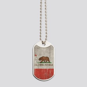 Vintage California Republic Dog Tags