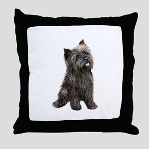 Brindle Cairn (#14) Throw Pillow