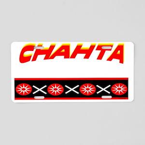 CHAHTA Aluminum License Plate