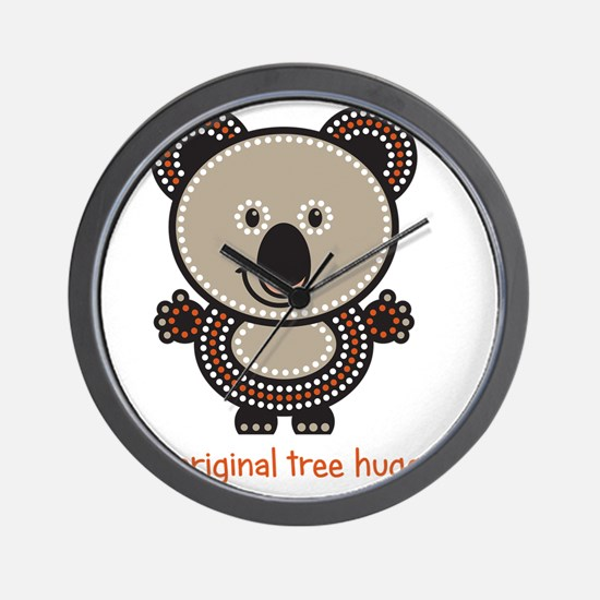 The Original Tree Hugger Wall Clock