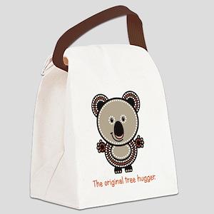 The Original Tree Hugger Canvas Lunch Bag