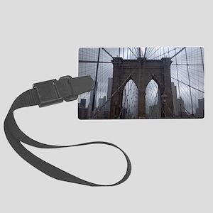 Brooklyn Bridge Large Luggage Tag