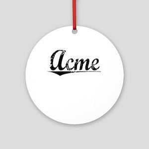 Acme, Vintage Round Ornament
