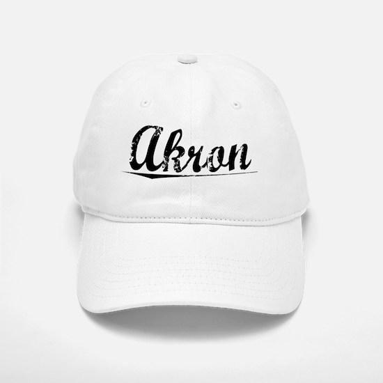 Akron, Vintage Baseball Baseball Cap