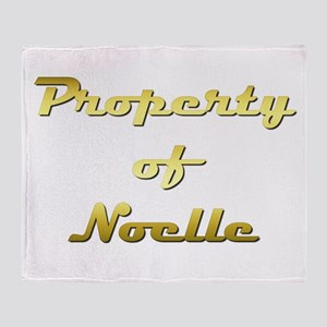 Property Of Noelle Female Throw Blanket