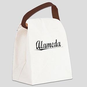 Alameda, Vintage Canvas Lunch Bag