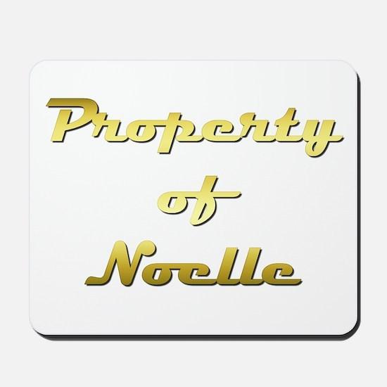 Property Of Noelle Female Mousepad