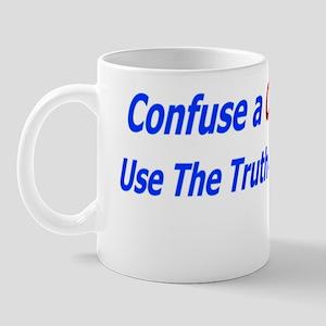 Confuse a conservative Mug