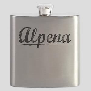 Alpena, Vintage Flask