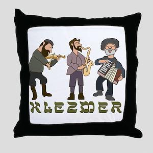 Klezmer Throw Pillow