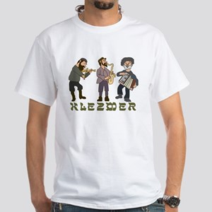 Klezmer White T-Shirt