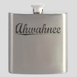 Ahwahnee, Vintage Flask