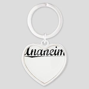 Anaheim, Vintage Heart Keychain