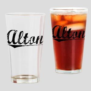 Alton, Vintage Drinking Glass