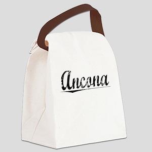 Ancona, Vintage Canvas Lunch Bag