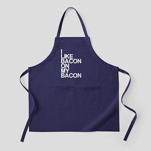 I Like Bacon on my Bacon Apron (dark)