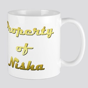 Property Of Nisha Female 11 oz Ceramic Mug