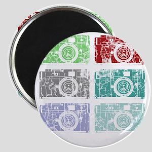 Cameras, Warhol, Vintage Magnet