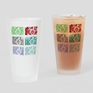Cameras, Warhol, Vintage Drinking Glass