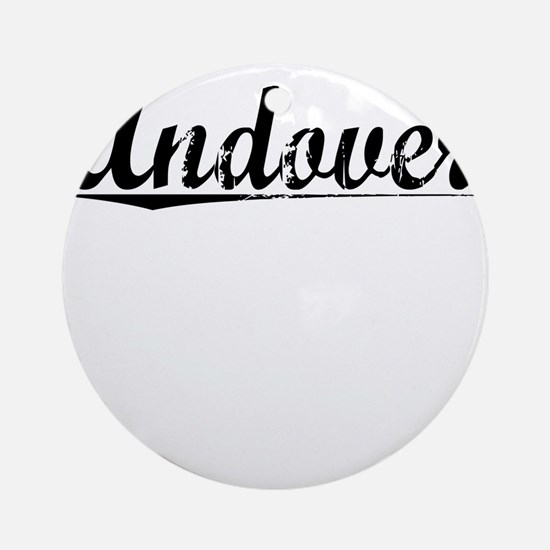 Andover, Vintage Round Ornament