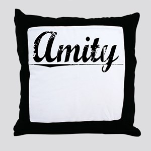 Amity, Vintage Throw Pillow