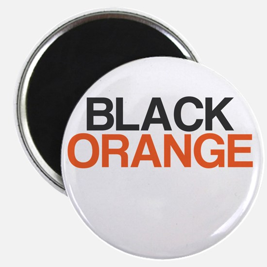 I Bleed Black and Orange Magnet