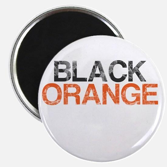 I Bleed Black and Orange, Aged, Magnet