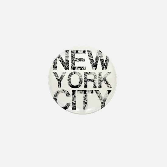New York City, Worn, Mini Button