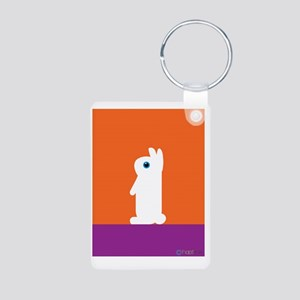Treat_ copy Aluminum Photo Keychain