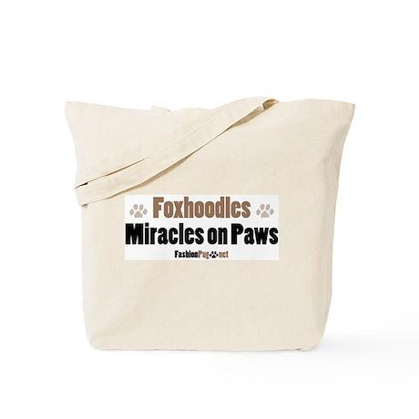 Foxhoodle dog Tote Bag