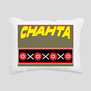CHAHTA Rectangular Canvas Pillow