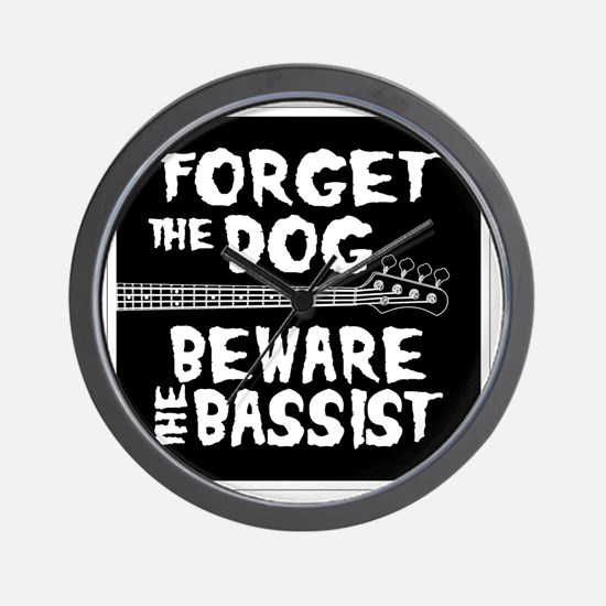 Beware the Bassist Wall Clock