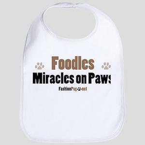 Foodle dog Bib