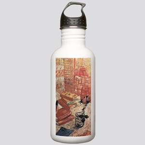 Van Gogh French Novels Stainless Water Bottle 1.0L