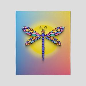 Dragonfly1 - Sun Throw Blanket