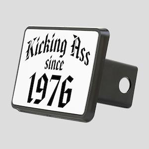Kicking Ass Since 1976 Rectangular Hitch Cover