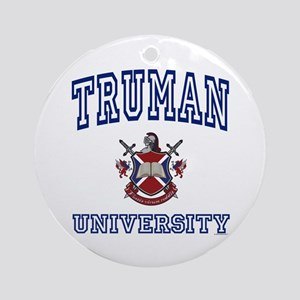 TRUMAN University Ornament (Round)