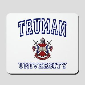 TRUMAN University Mousepad