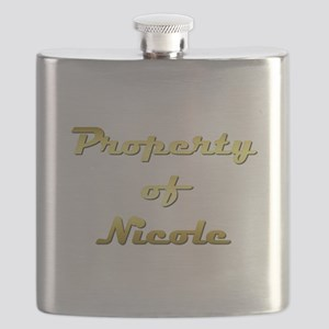 Property Of Nicole Female Flask