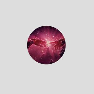 Conceptual artwork of a star birth in  Mini Button