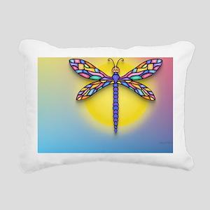 MP-Dragonfly1-SUN-gr1 Rectangular Canvas Pillow