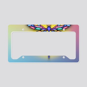 MP-Dragonfly1-SUN-gr1 License Plate Holder