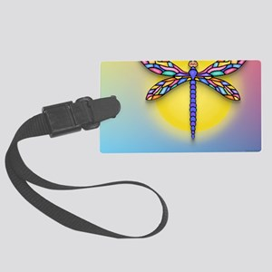 MP-Dragonfly1-SUN-gr1 Large Luggage Tag