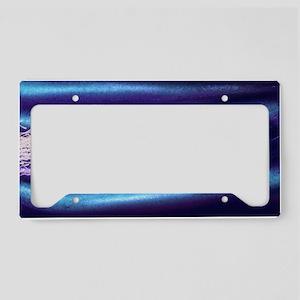 Computer artwork of human spe License Plate Holder
