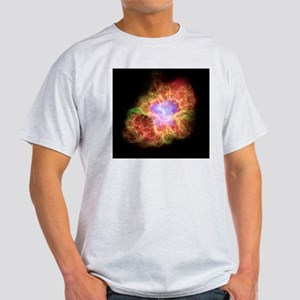 Crab nebula, composite image Light T-Shirt