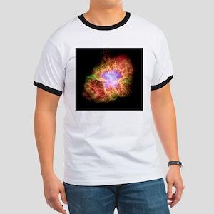 Crab nebula, composite image Ringer T