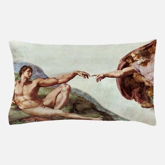 Creation of Adam Pillow Case