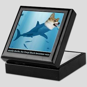The Corgi Shark and the Bacon Fish Keepsake Box