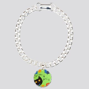 House of Peace Charm Bracelet, One Charm