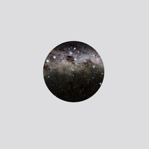 Crux and the southern celestial pole Mini Button